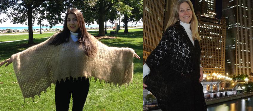 poncho shawl slide